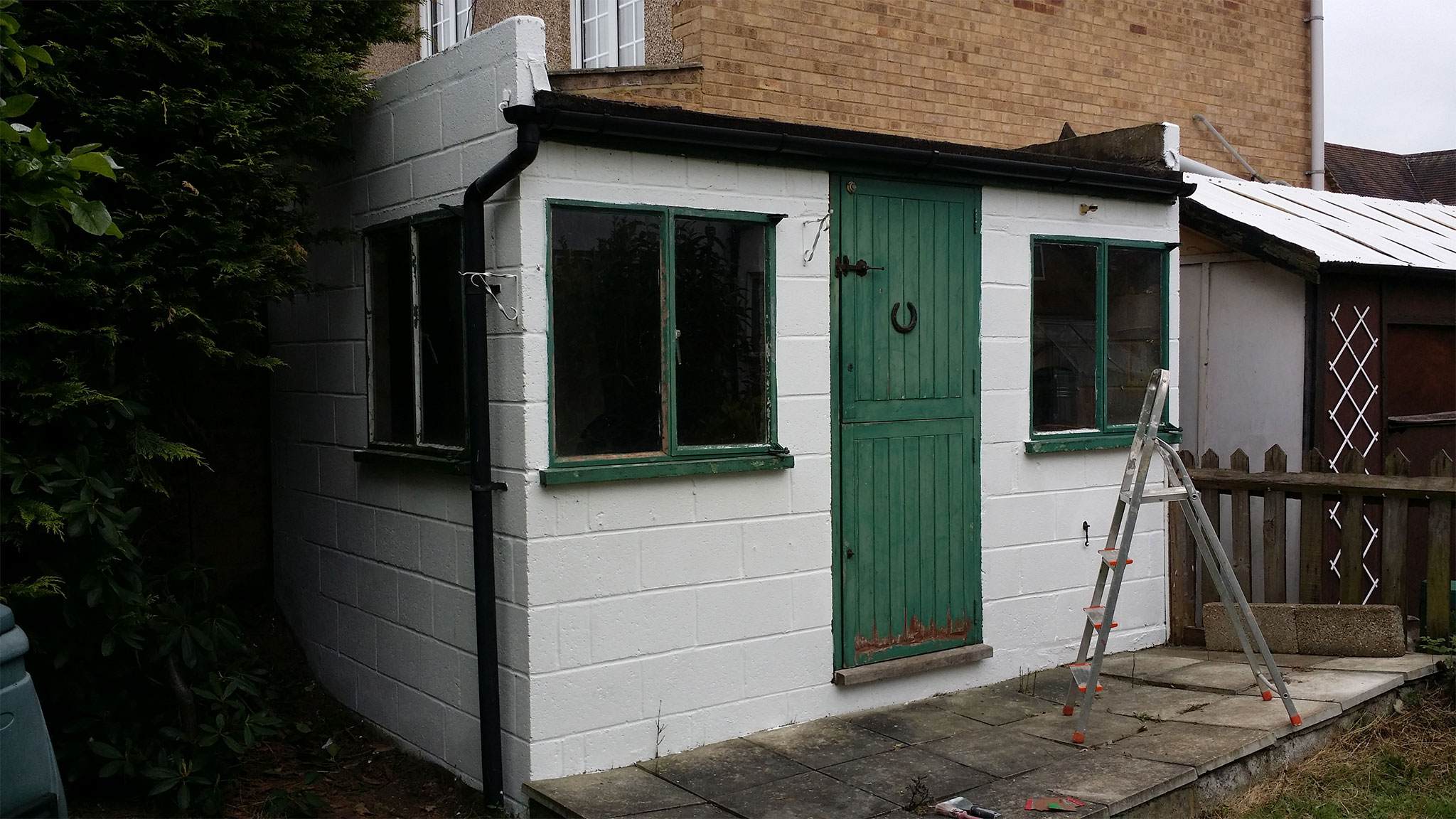 Small-shed-before